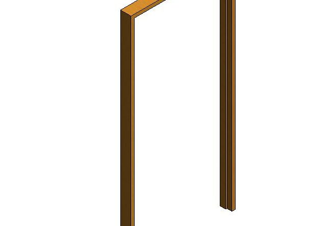 ArchiDraft Door Frame Rbtd